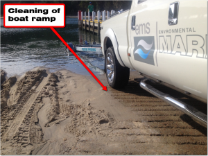 cleaning_of_boat_ramp